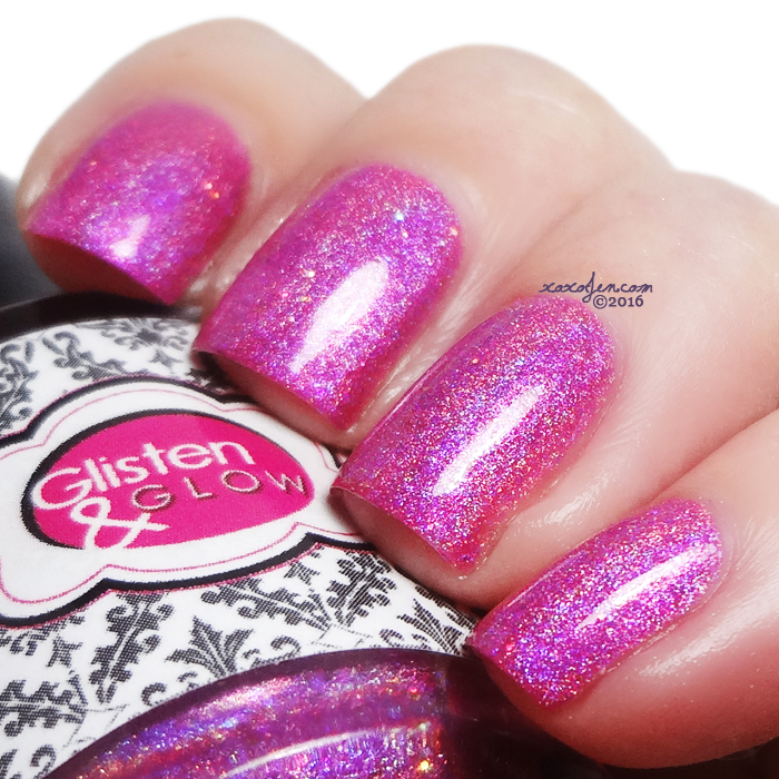 xoxoJen's swatch of Glisten & Glow Where Brooklyn At?