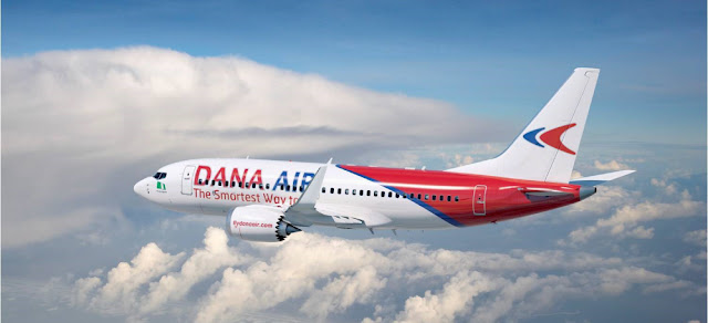 Covid-19: Dana Air to keep middle seats empty on resumption