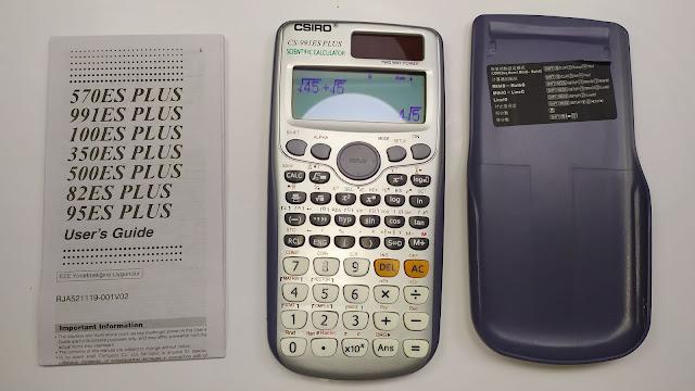 آلة حاسبة علمية بأكثر من 417 وظيفة - FX-991es Plus Scientific Calculator With 417 Functions