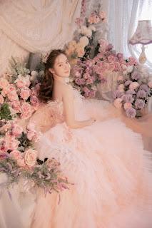 Hoa khôi ĐH Bách khoa khoe nhan sắc ngọt ngào như công chúa