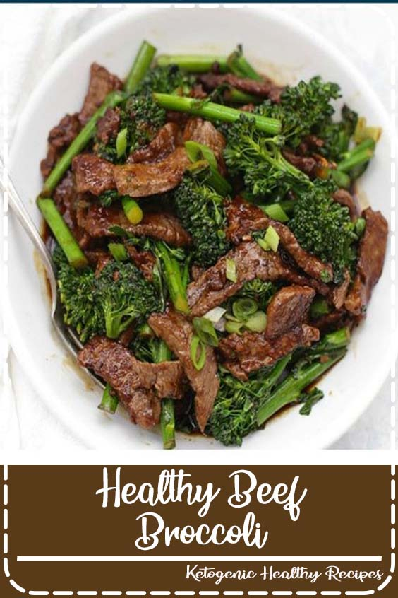 out favorite is so easy to make at home and Healthy Beef and Broccoli