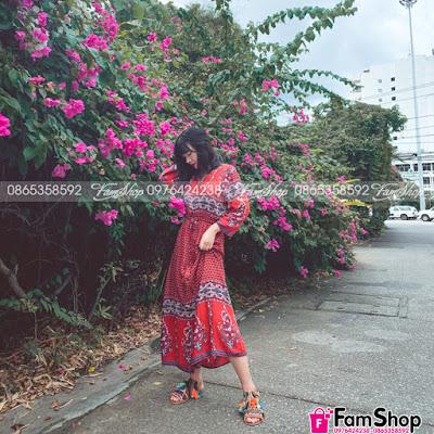 shop ban vay maxi gia re tai Cau Giay