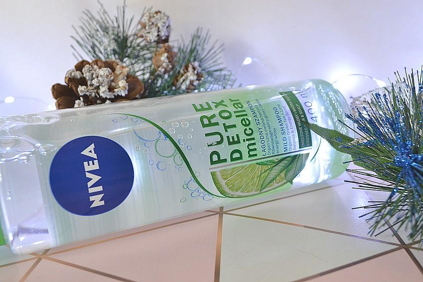 Nivea łagodzący szampon micelarny zielona herbata i limonka