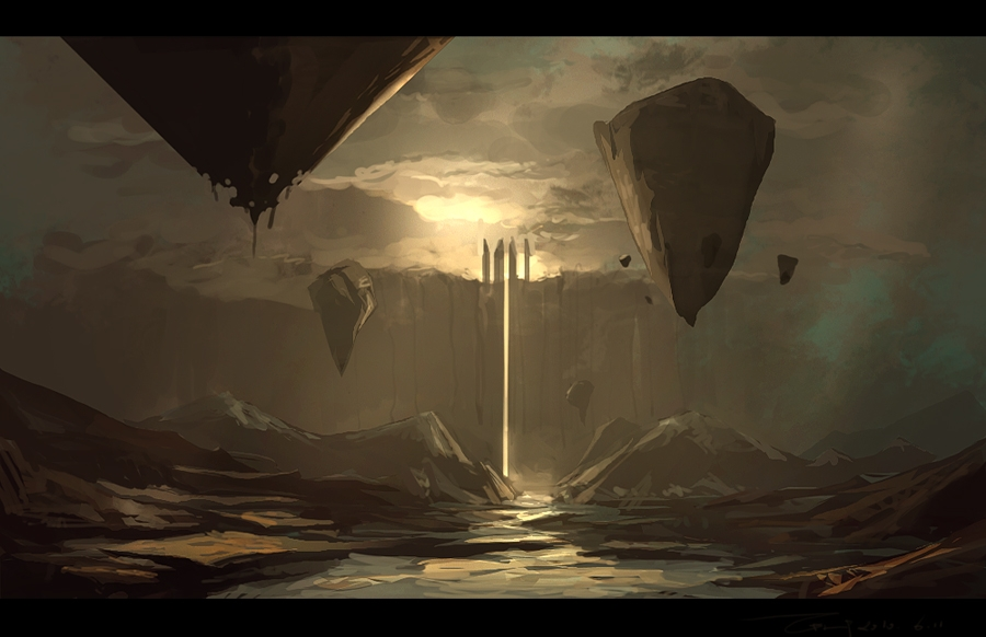 07-Cube-ZERG118-Dreams-Made-of-Fantasy-Worlds-and-Creature-Illustrations-www-designstack-co
