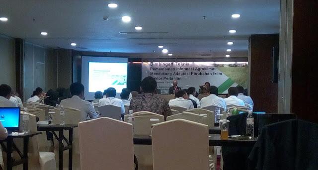 Balitklimat BP2TP Mengadakan Bimtek Pemanfaatan Informasi Agroklimat Untuk Sektor Pertanian