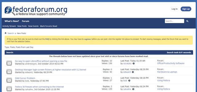 Fedora Forums