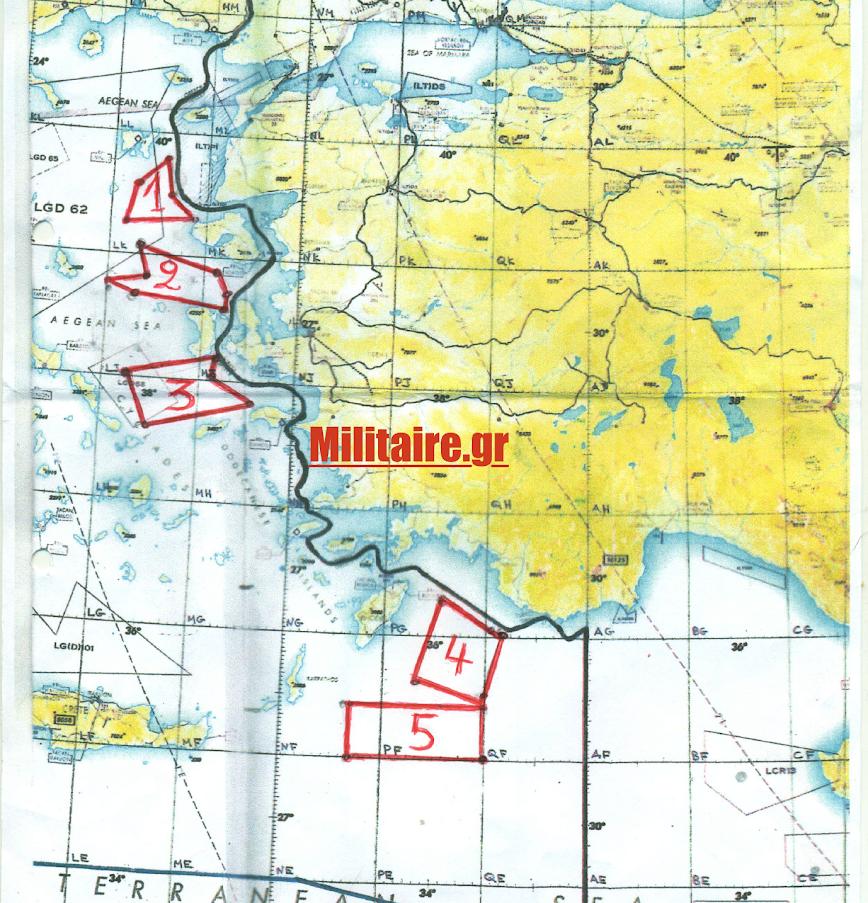 Η κυβέρνηση παρέδωσε τα 6-10νμ εθνικού εναερίου χώρου στην αγκαλιά του Ερντογάν