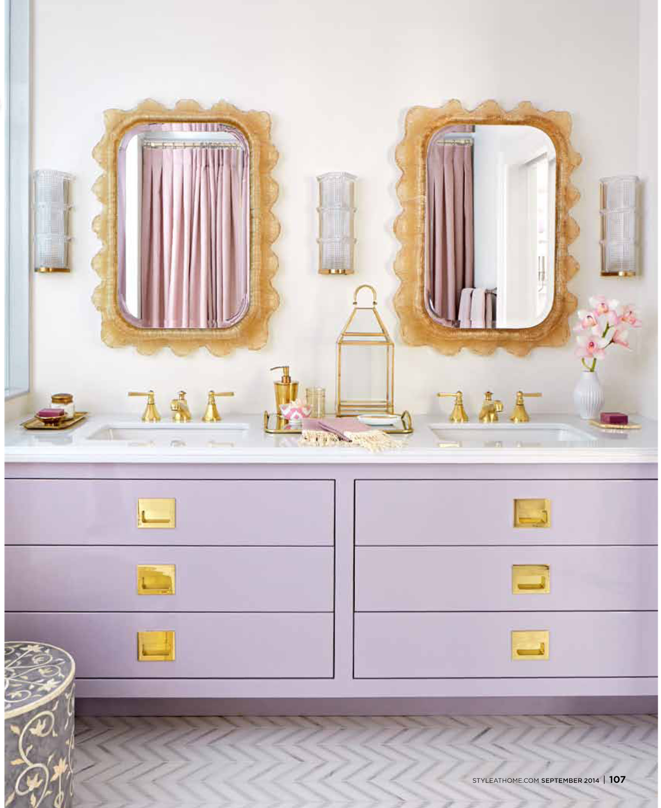 Tiffany Leigh Interior Design: Lilac And Gold