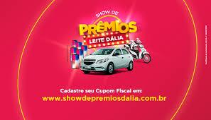Promoção Show de Prêmios Dalia 2018