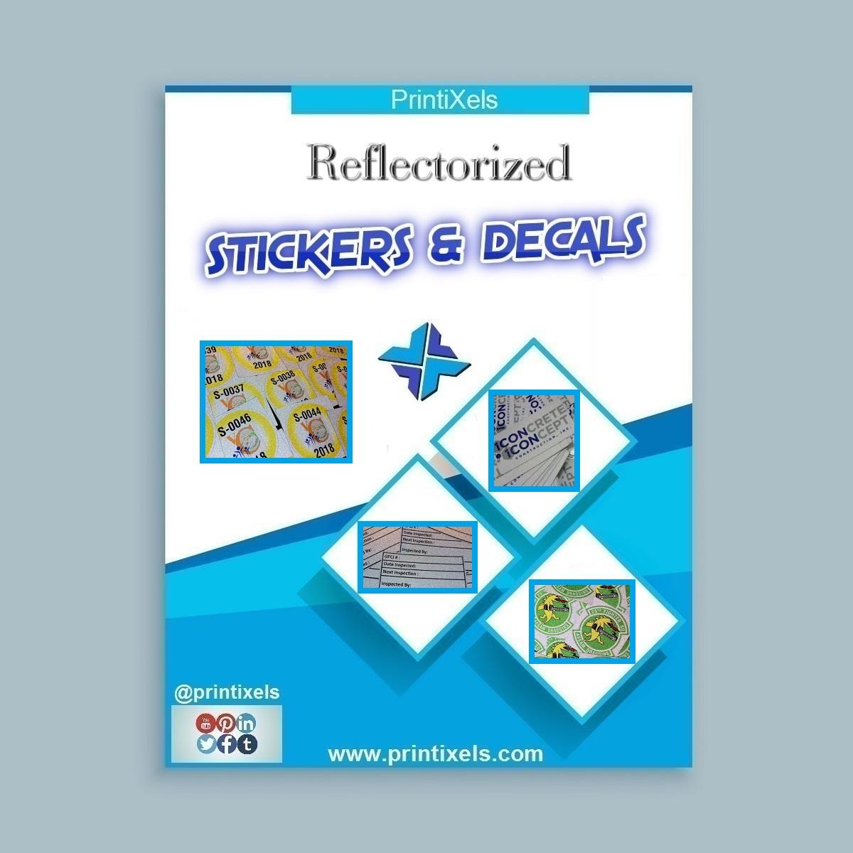 Custom Reflectorized Stickers & Decals Philippines