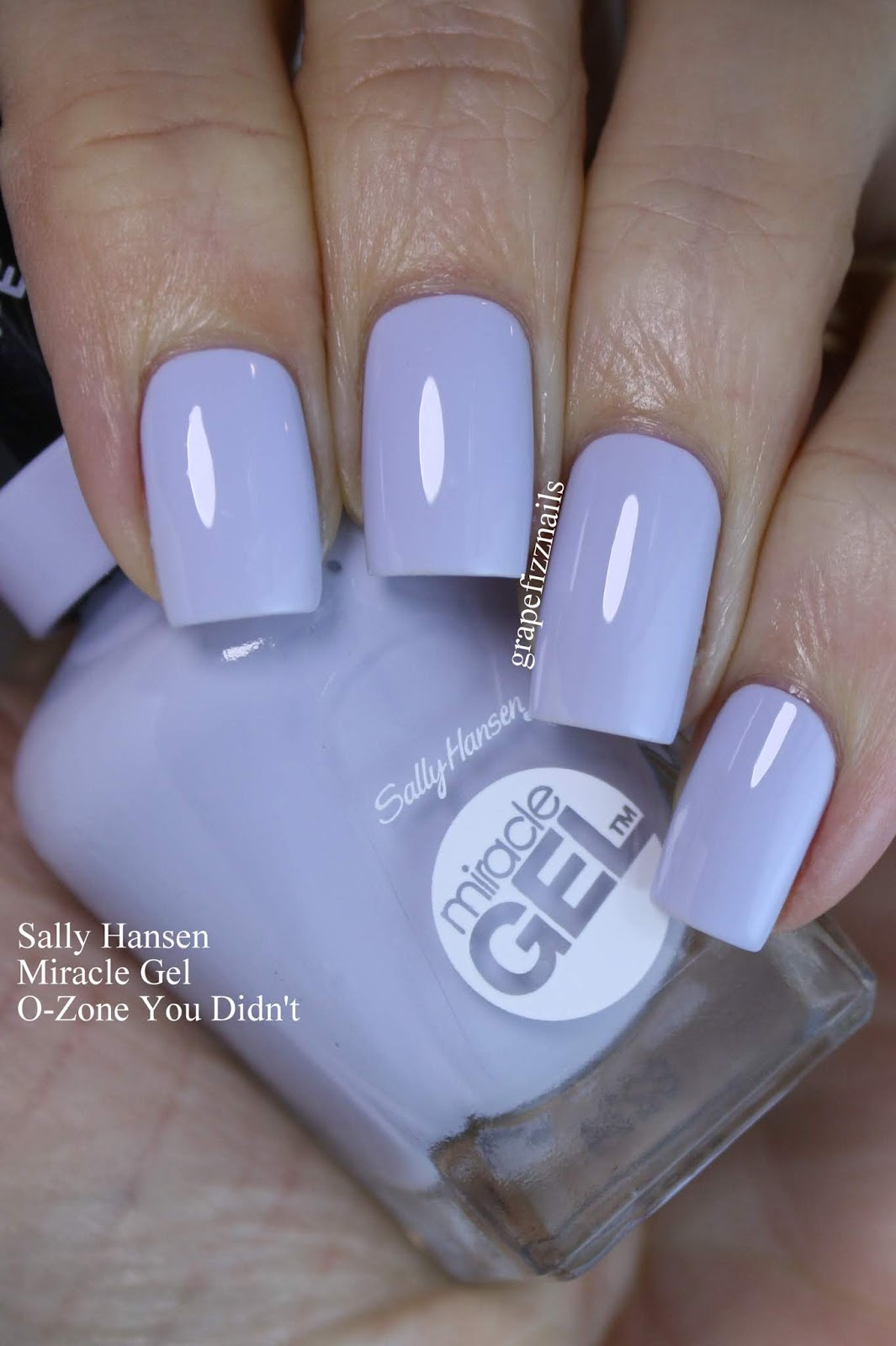 Grape Fizz Nails: February 2019