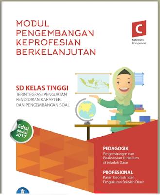 Modul PKB Guru Pembelajar SD Kelas Tinggi KK-C - https://bloggoeroe.blogspot.com/