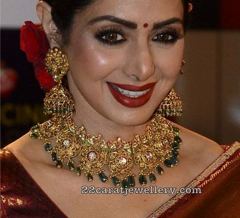 Sridevi Kapoor Antique Bridal Choker