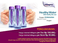 085214966266 Jual Air Milagros