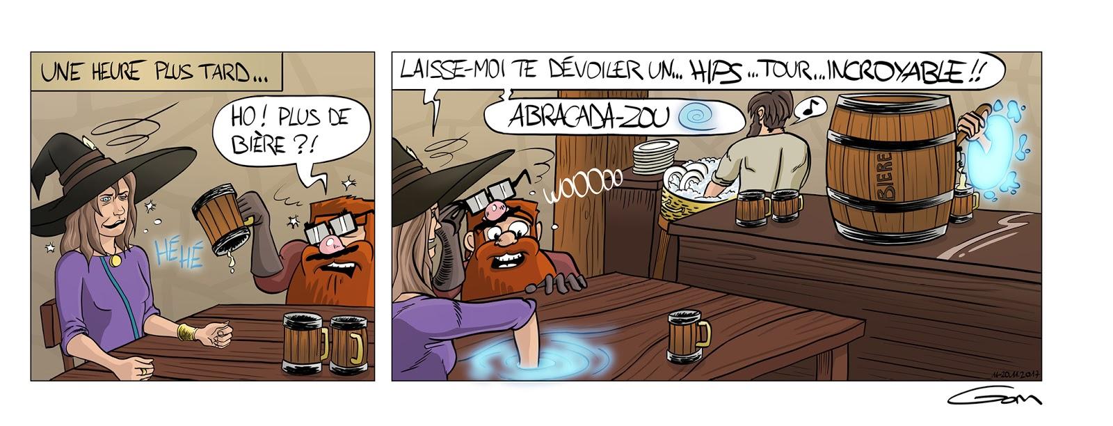 Nain Broglio boisson bière