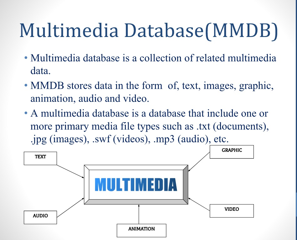 Multimedia Database Management System (MMDB) | Tech by Avnish