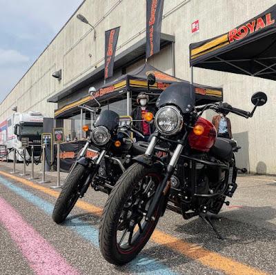 Motor Bike Expo 2021 Royan Enfield