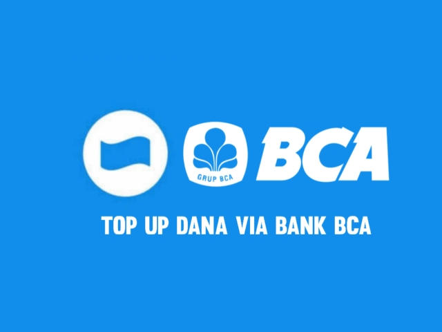Top up dana via bank BCA
