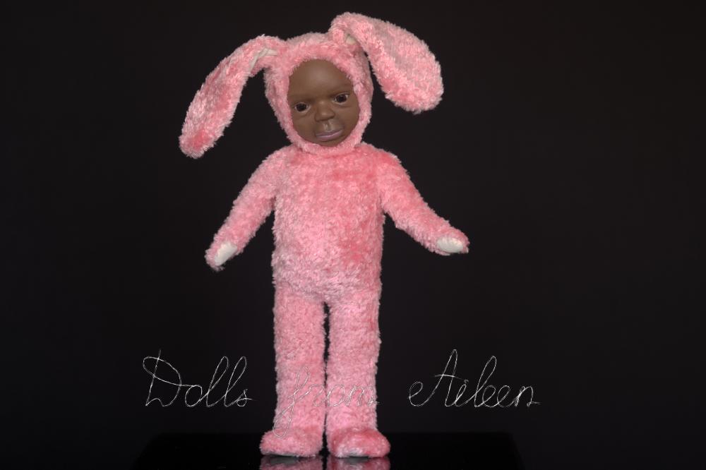 ooak Easter Bunny teddy doll