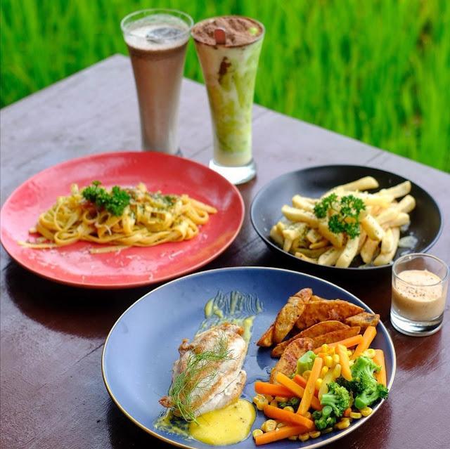 Menu Ayonge Resto & Cafe Jogja