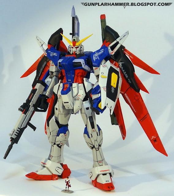 RG 1/144 Destiny Gundam ZGMF-X42S Realgrade no paint Shinn Asuka