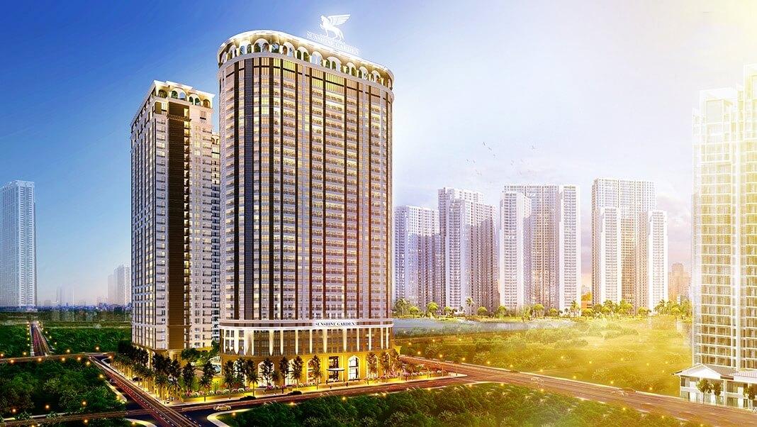 Tổng thể dự án Sunshine Garden Minh Khai