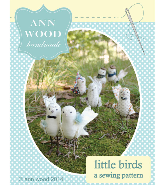 Ann Wood, artists, artist interview, sewing pattern, birds,  My Giant Strawberry