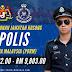 Permohonan Jawatan Kosong Polis Diraja Malaysia (PDRM) ~ Inspektor Polis Gred YA13