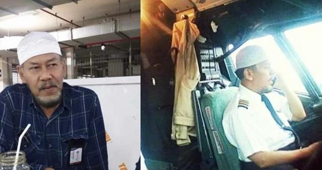 Kisah Pilot Sriwijaya SJ182 dan Kopiah Putih yang Selalu Ia Kenakan