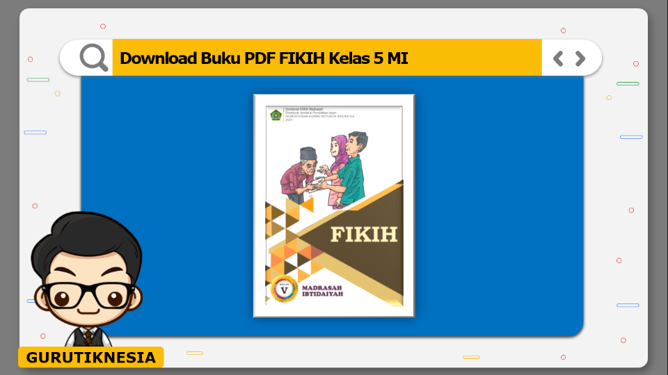 download buku pdf fikih kelas 5 mi