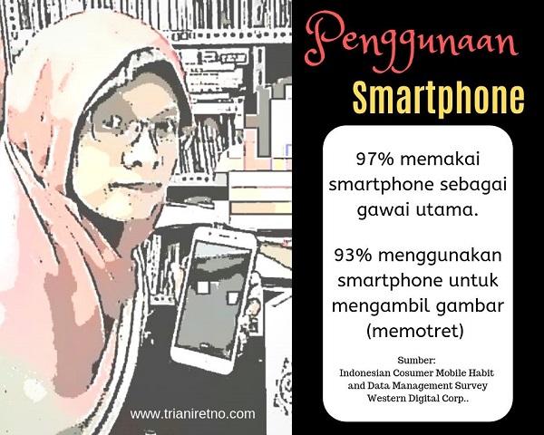 penggunaan smartphone di indonesia