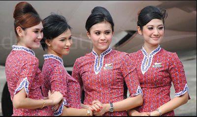 Baju Pramugari Batik Air