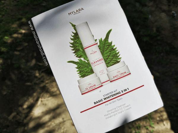 Kulit Berseri dengan Mylara Skincare Starter Kit Basic Whitening 3 In 1