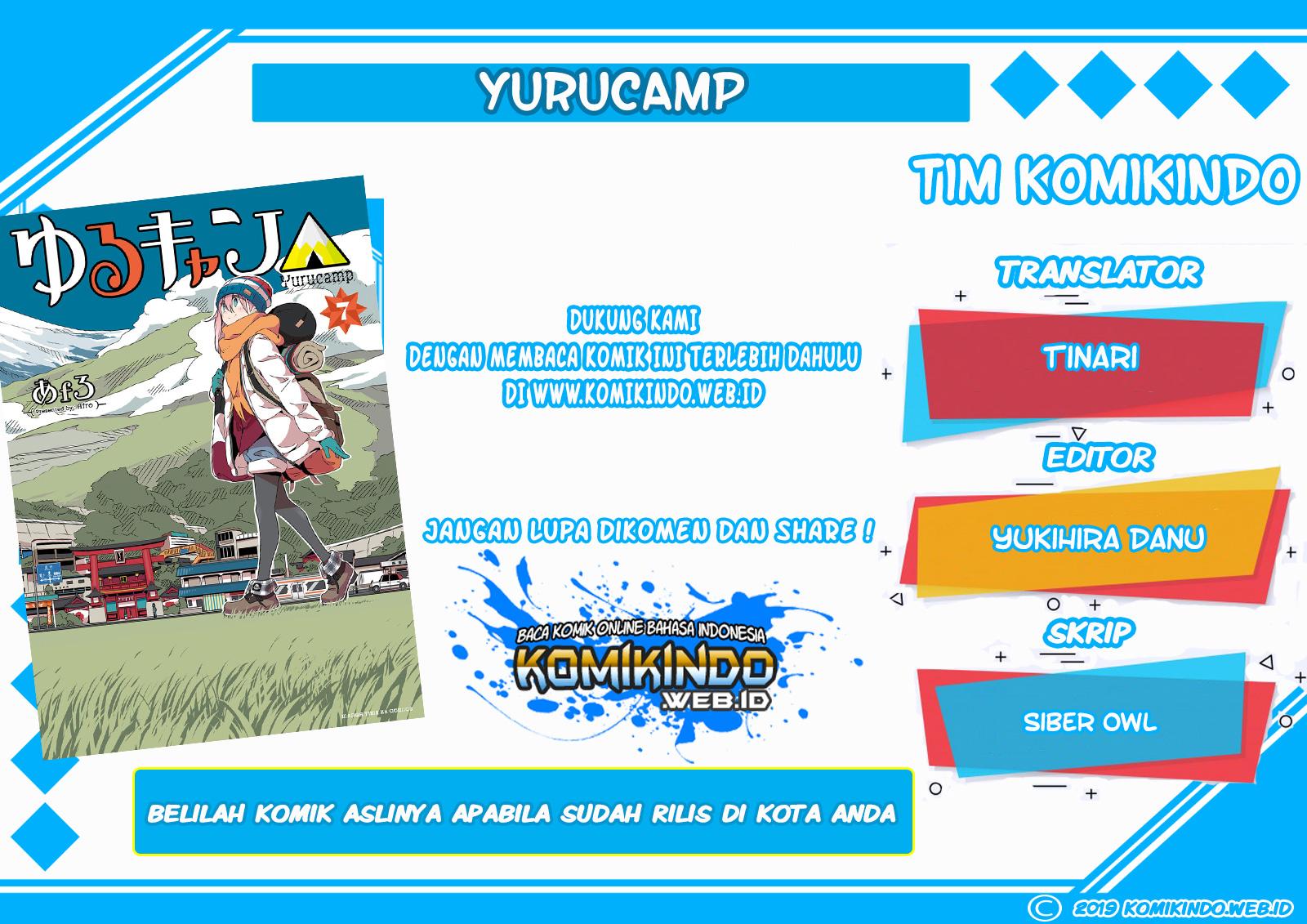 Dilarang COPAS - situs resmi www.mangacanblog.com - Komik yuru camp 012 - chapter 12 13 Indonesia yuru camp 012 - chapter 12 Terbaru |Baca Manga Komik Indonesia|Mangacan