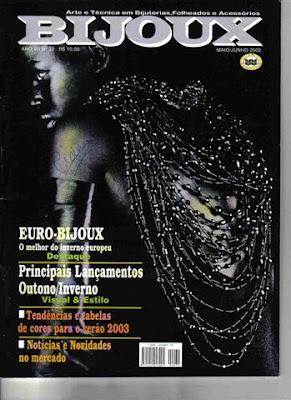 Revista: Bijoux. Arte e tecnica em bijuteria [Portugués]