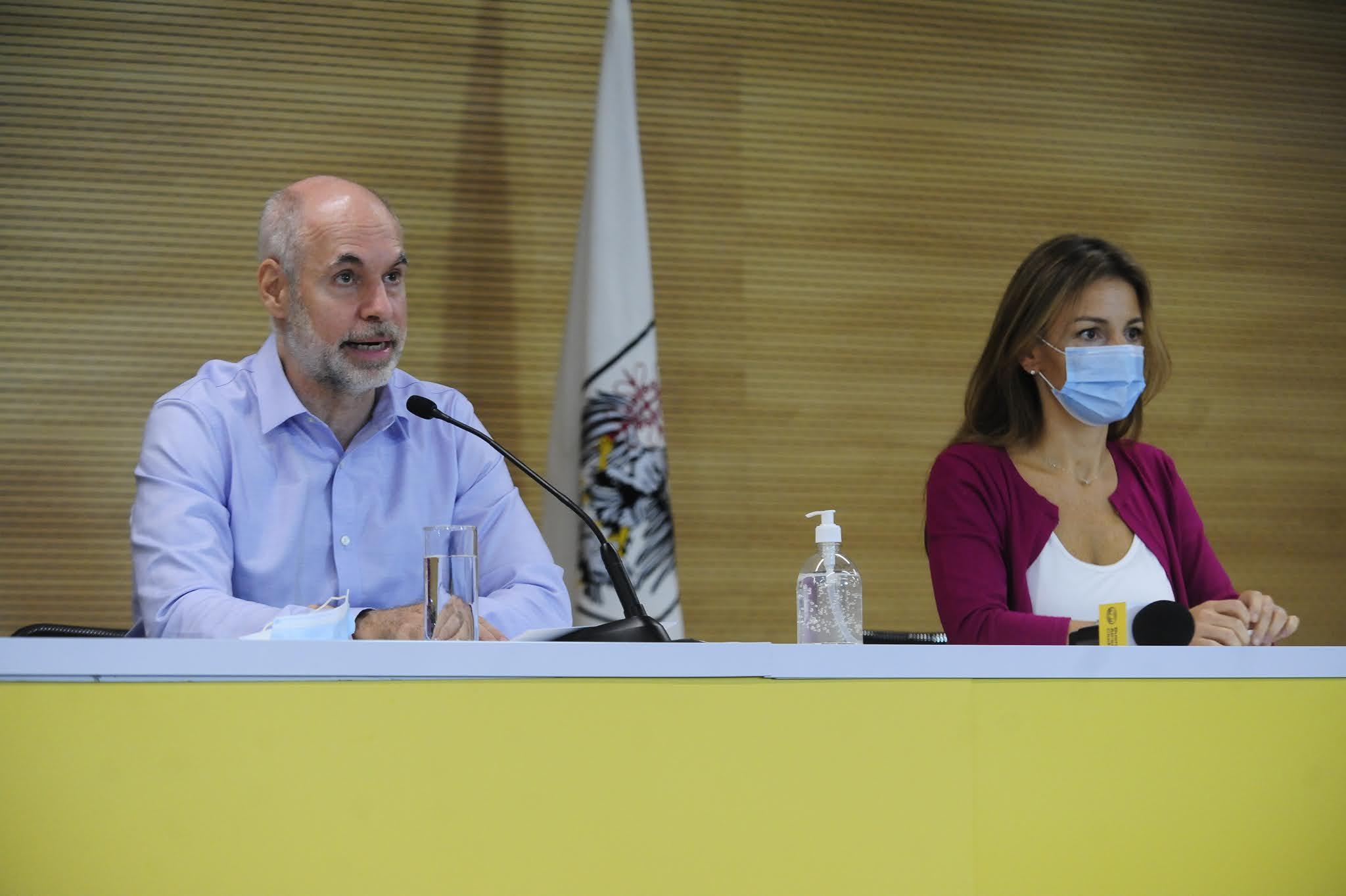 """Rodríguez Larreta: """"Estamos en esta situación porque el Gobierno no cumplió con las vacunas que prometió"""""""