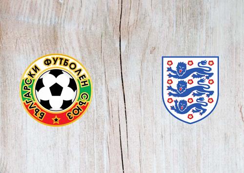 Bulgaria vs England -Highlights 14 October 2019