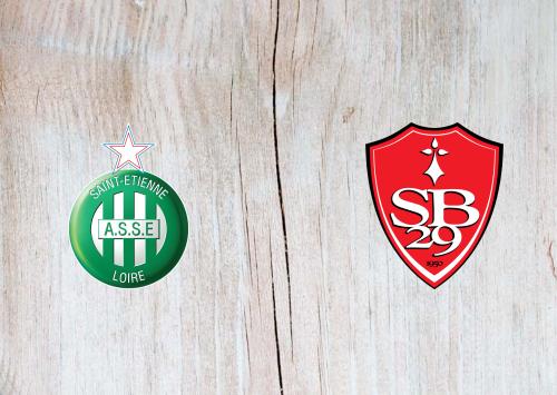 Saint-Etienne vs Brest -Highlights 24 April 2021