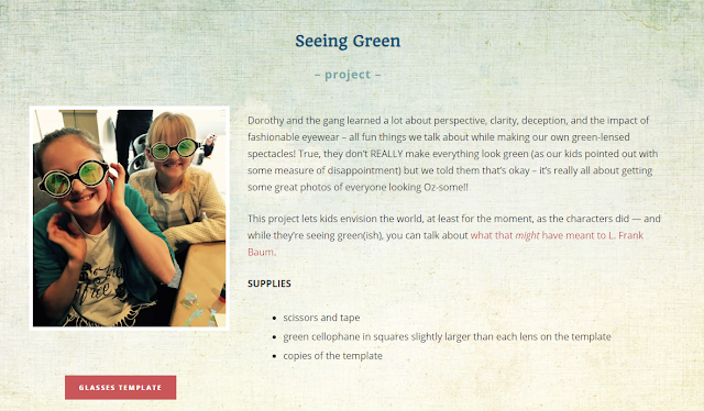 Seeing Green Project instructions
