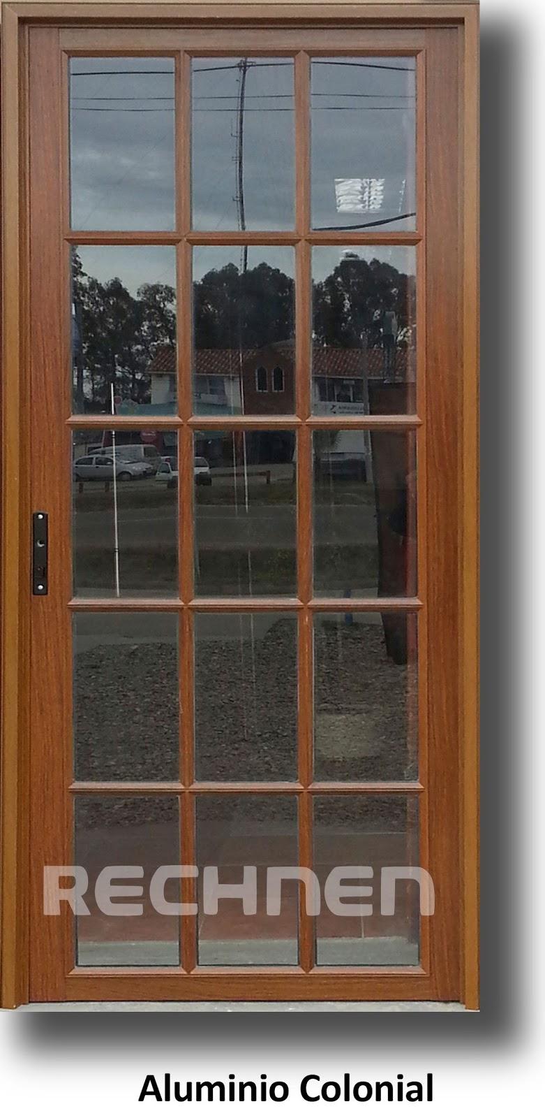 Aluminio color madera beautiful resultado de imagen para - Puertas de aluminio color madera ...