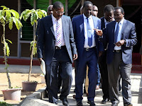 MUDAVADI now criticizes RAILA ODINGA for his swearing in and terms it illegal, says he was courageous enough to snub