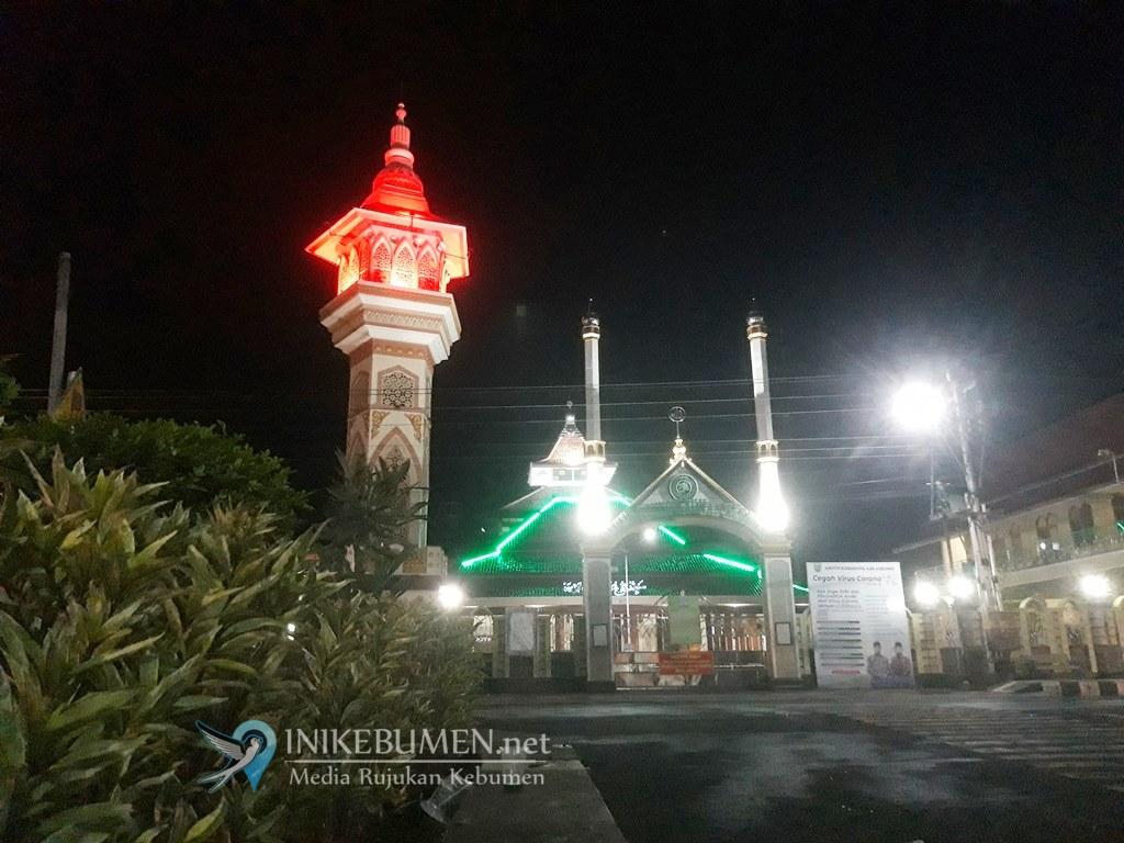 Hari Pertama Ramadan, Masjid Agung Kebumen Tak Selenggarakan Salat Tarawih Berjamaah