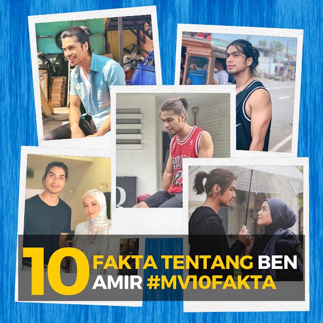 10 Fakta Menarik Tentang Ben Amir (Pelakon Drama Sweet Dreams)