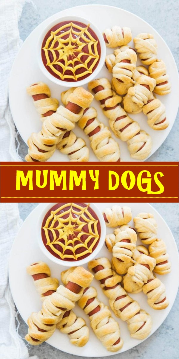 MUMMY DOGS #halloweenrecipes