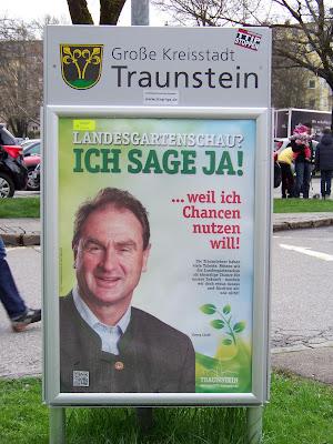 Georg Lindl zur Landesgartenschau Traunstein