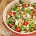 Salada Mediterrânea de Lentilhas e Grão-de-bico na Pressão