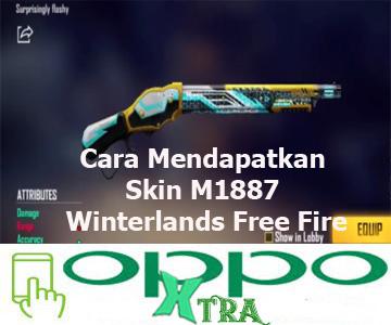 Cara Mendapatkan Skin M1887 Winterlands Free Fire