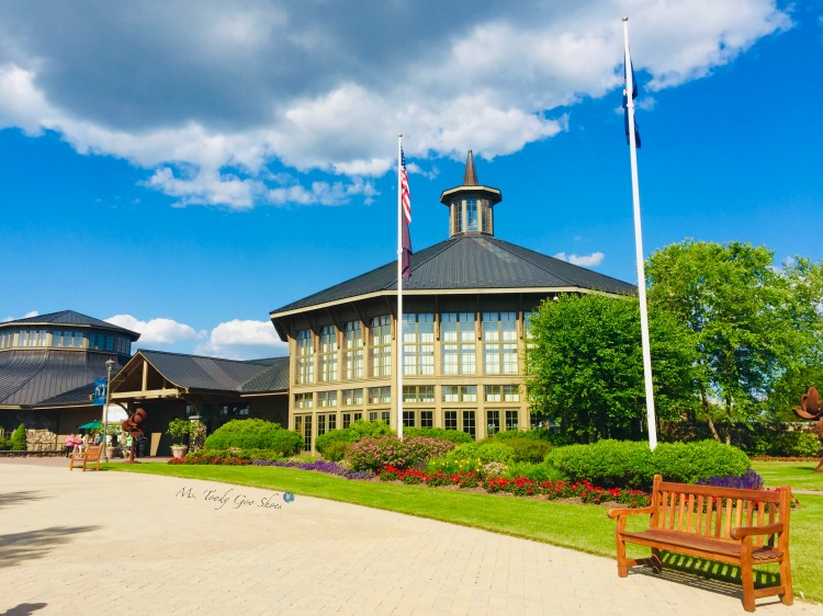Bethel Woods Center For The Arts Center sits on the site of the famous Woodstock concert | Ms. Toody Goo Shoes