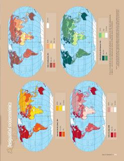 Apoyo Primaria Atlas de Geografía del Mundo 5to. Grado Capítulo 5 Lección 1 Desigualdad Socioeconómica
