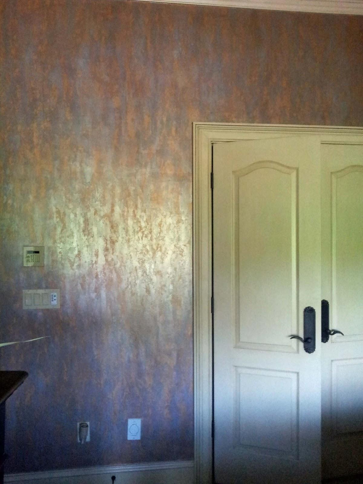Davis Creative Painting: METALLIC BEDROOM WALLS